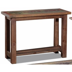 Sofa Table with 1 Open Bottom Shelf