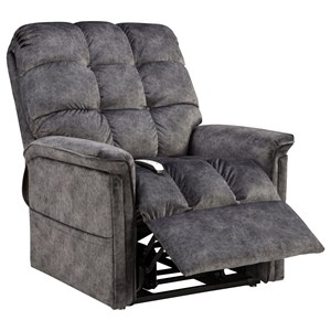3-Position Power Reclining Lift Chair with Biscuit Back