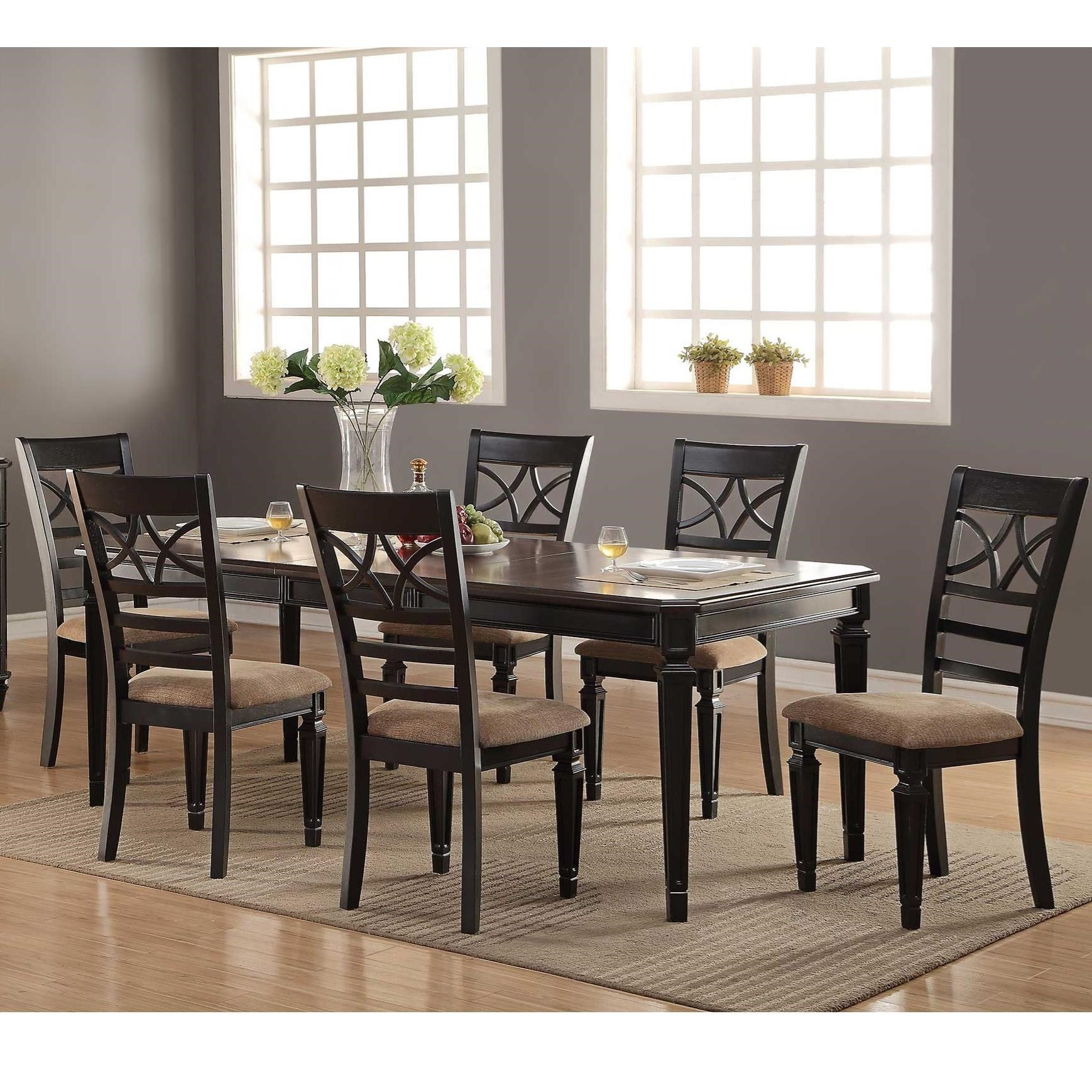 Arlington 7 Piece Dining Set by Winners Only at Crowley Furniture & Mattress