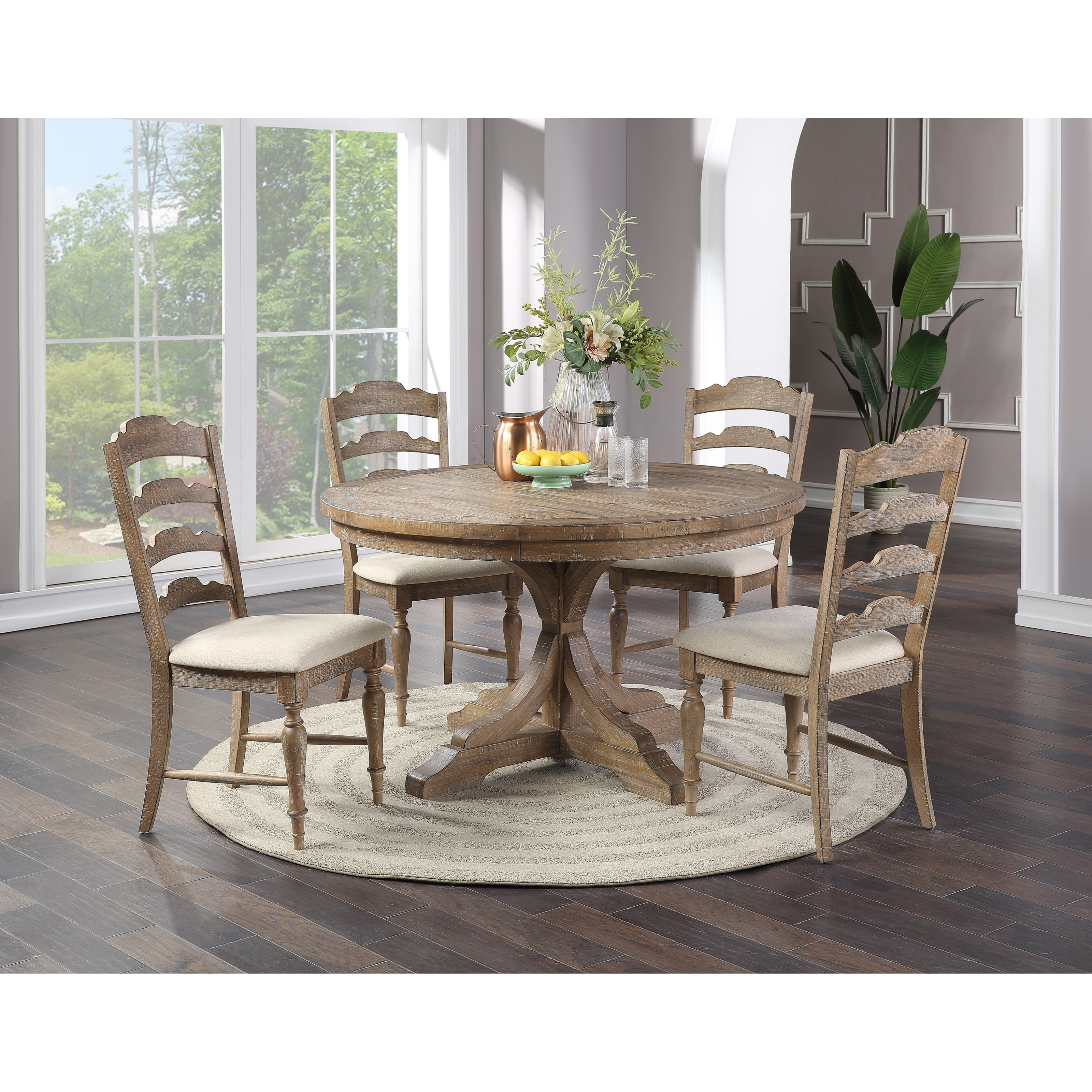 Augusta 5-Piece Dining Set by Winners Only at Simply Home by Lindy's