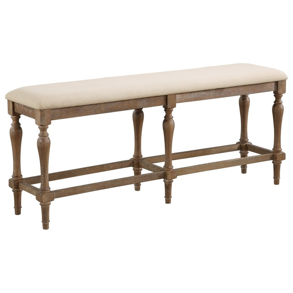 Augusta Counter Height Bench by Winners Only at Simply Home by Lindy's