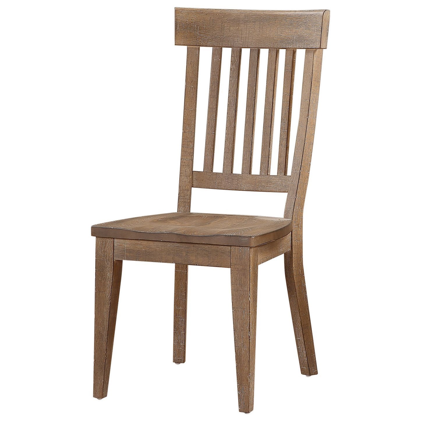 Augusta Slat Back Side Chair by Winners Only at Crowley Furniture & Mattress