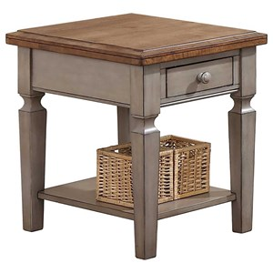 "18"" End Table with Drawer"