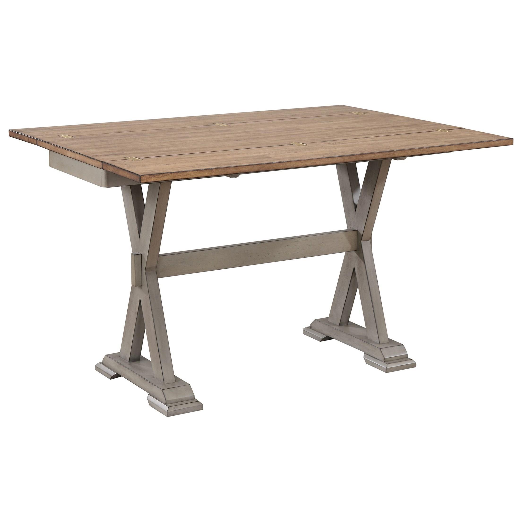 """50"""" Foldover Leaf Sofa Table"""