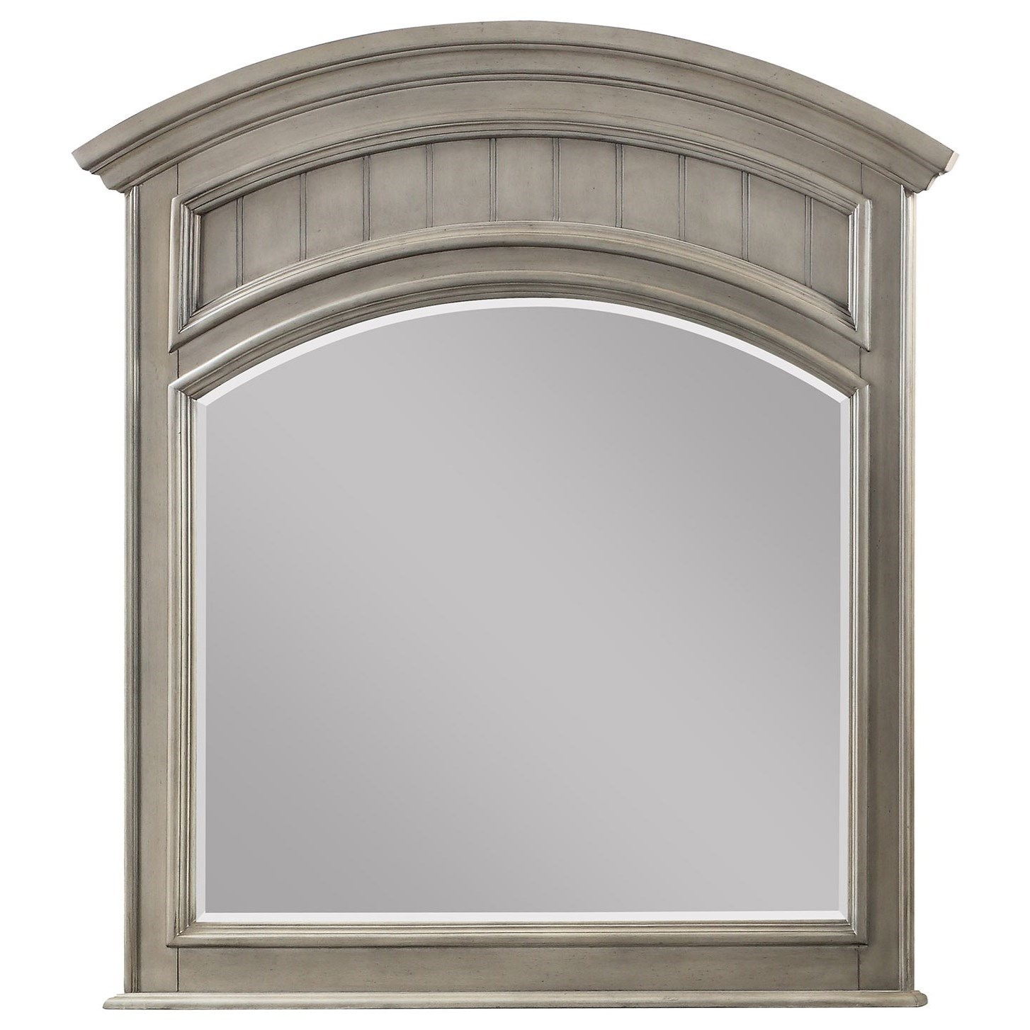 Dresser Mirror with Arched Top