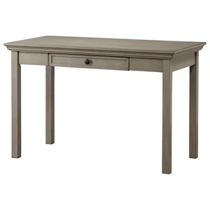 Casual Writing Desk with Center Drawer
