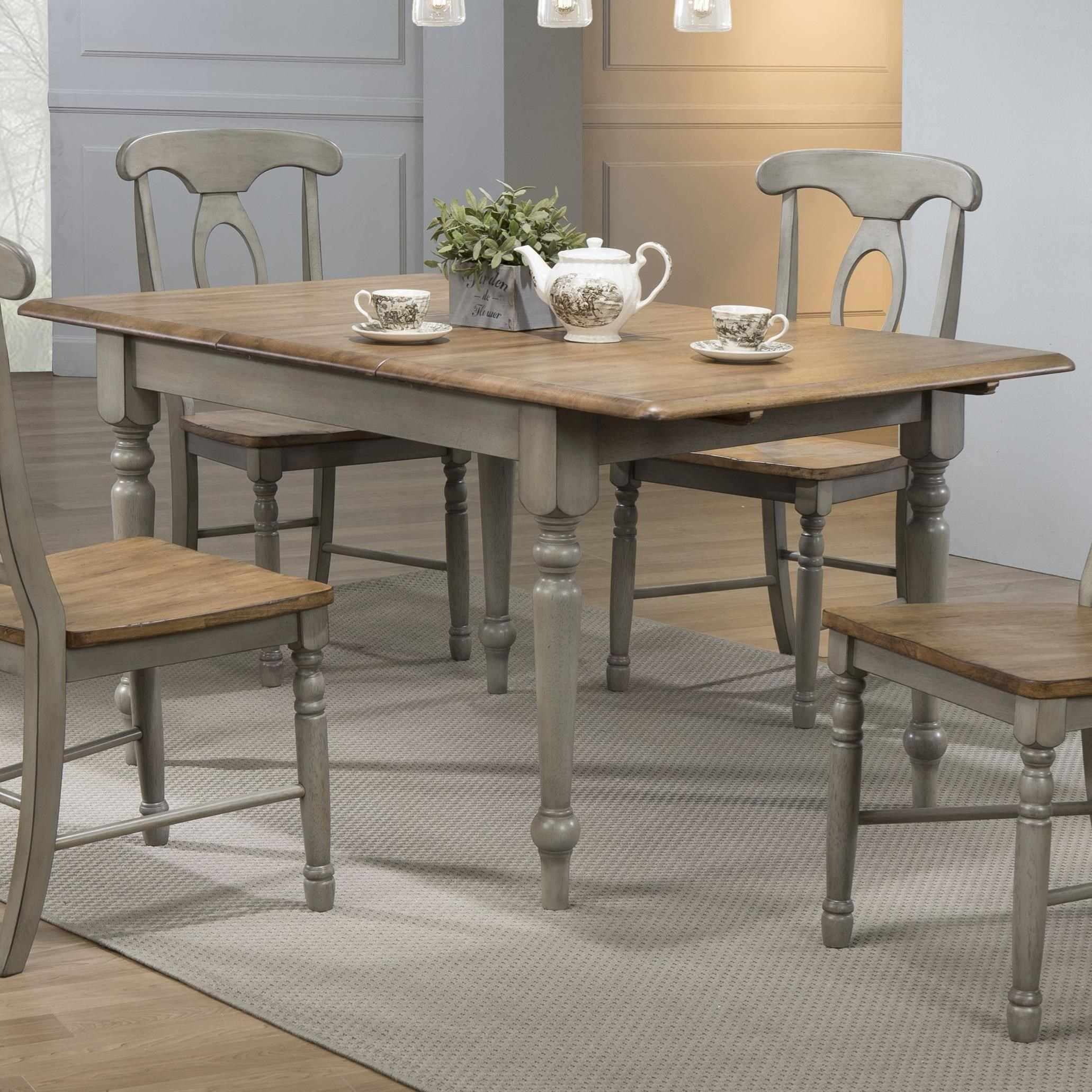 Barnwell Dining Leg Table by Winners Only at Crowley Furniture & Mattress