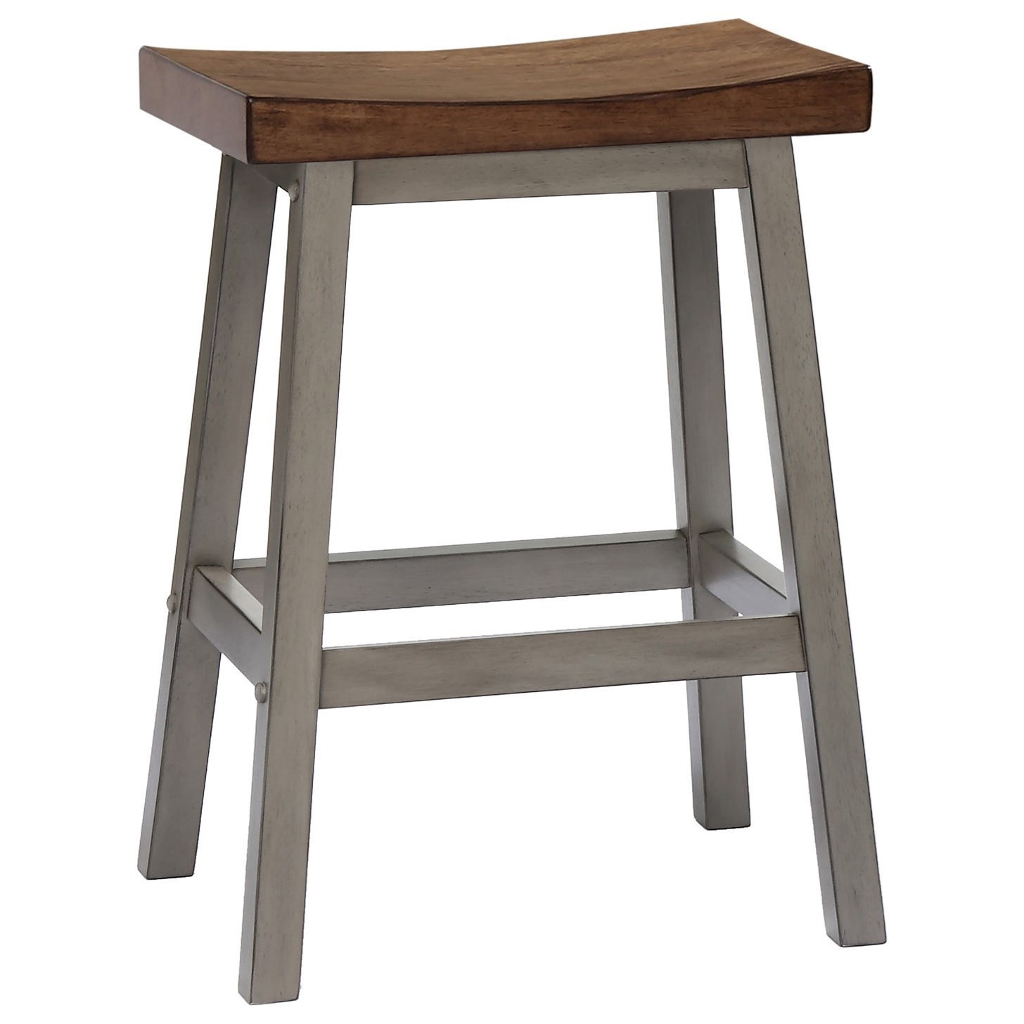 Barnwell Saddle Stool by Winners Only at Crowley Furniture & Mattress