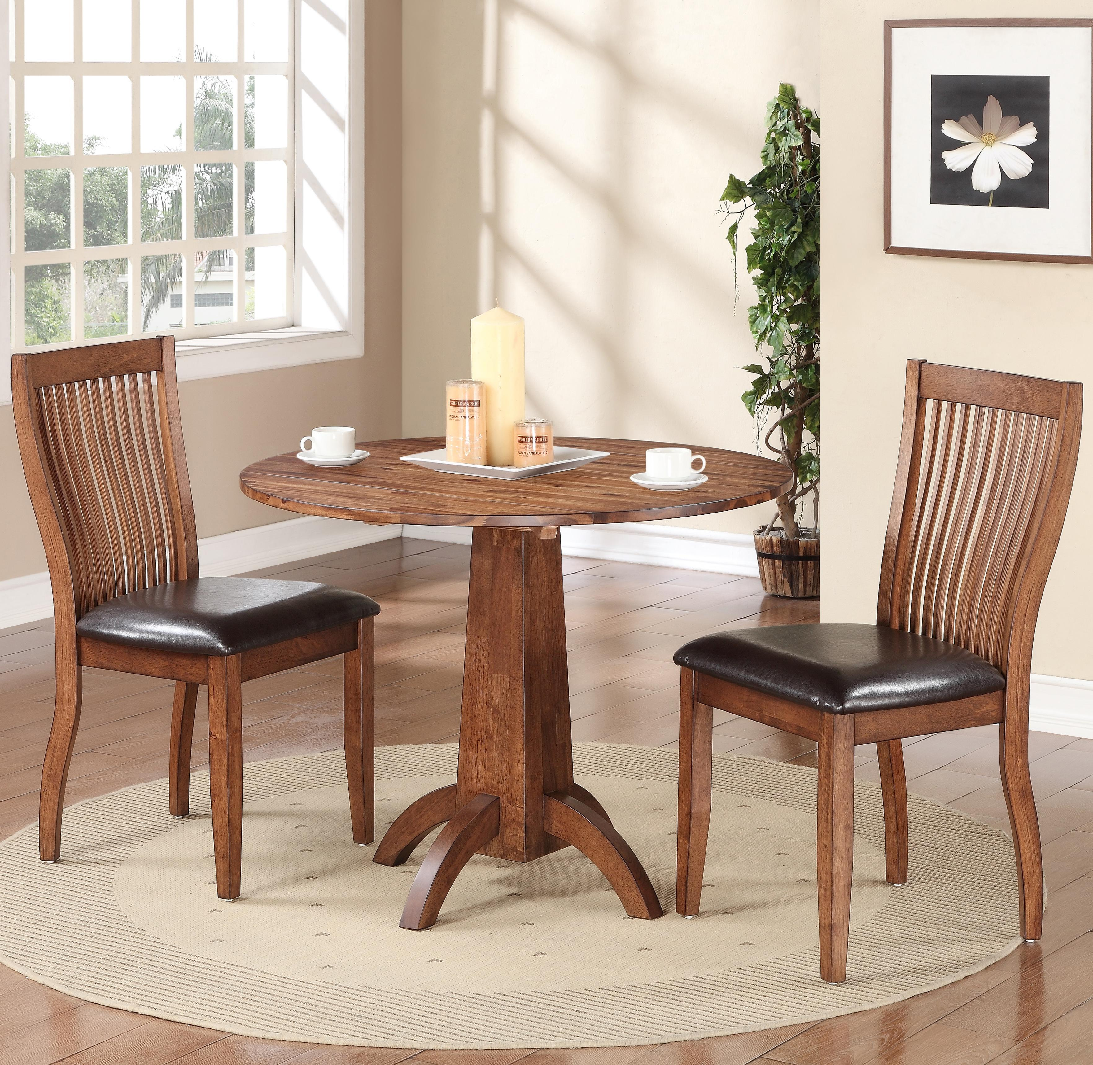 Broadway 3 Piece Dining Set by Winners Only at Simply Home by Lindy's