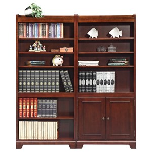 "Transitional 72"" Bookcase"