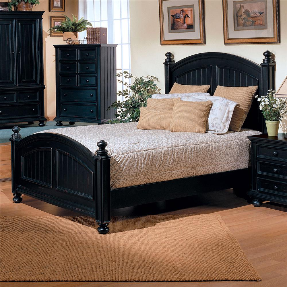 Cape Cod  Twin Panel Bed by Winners Only at Mueller Furniture