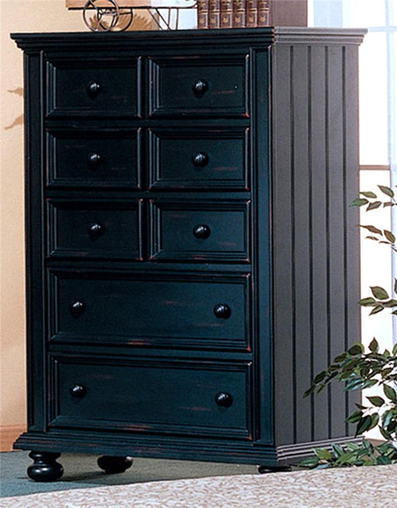 Cape Cod  Five Drawer Chest by Winners Only at Miller Waldrop Furniture and Decor