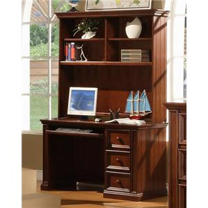 Youth Desk with Hutch and Keyboard Pullout Drawer