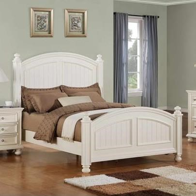 Cape Cod  Panel Twin Bed at Sadler's Home Furnishings