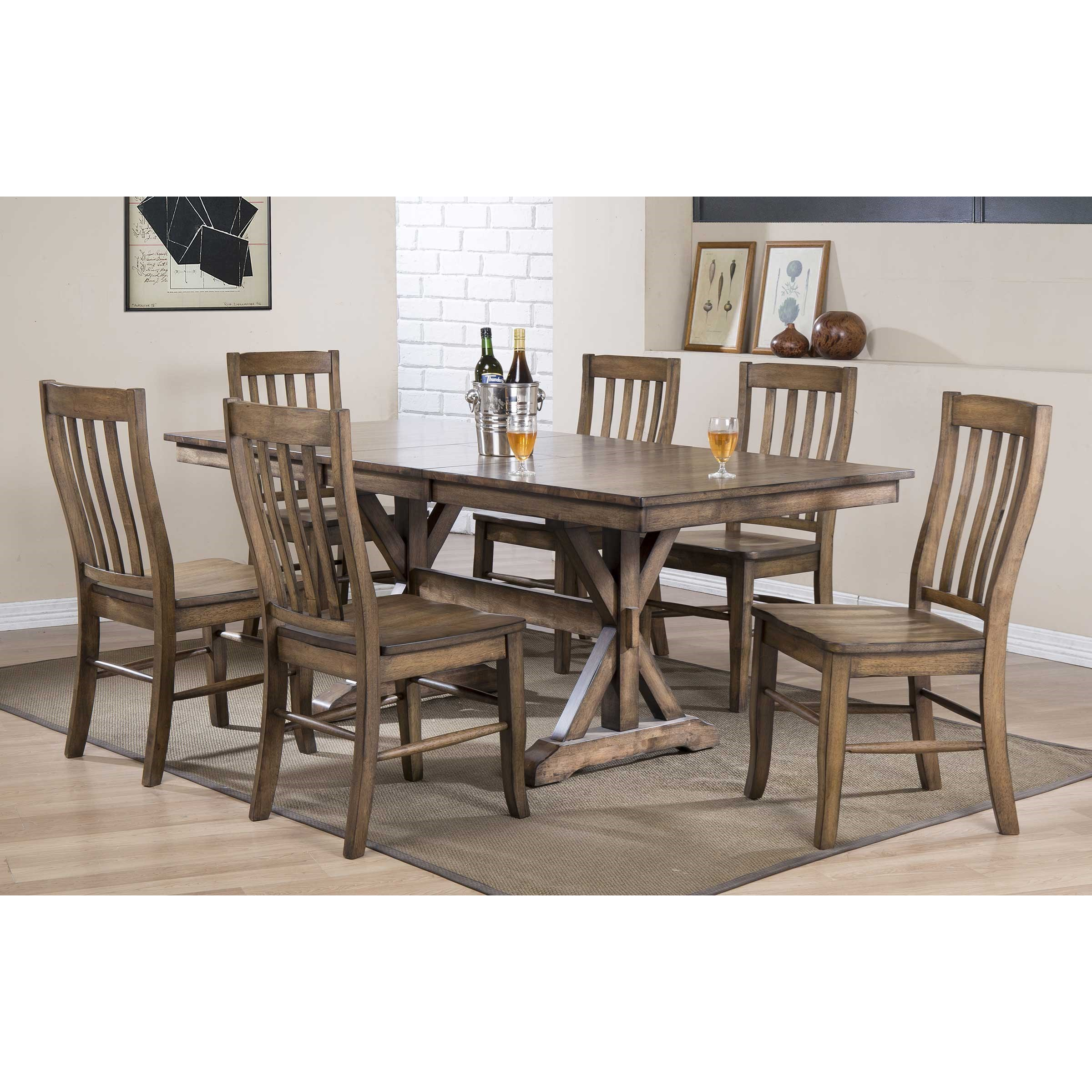 Carmel Dining Table by Winners Only at Crowley Furniture & Mattress