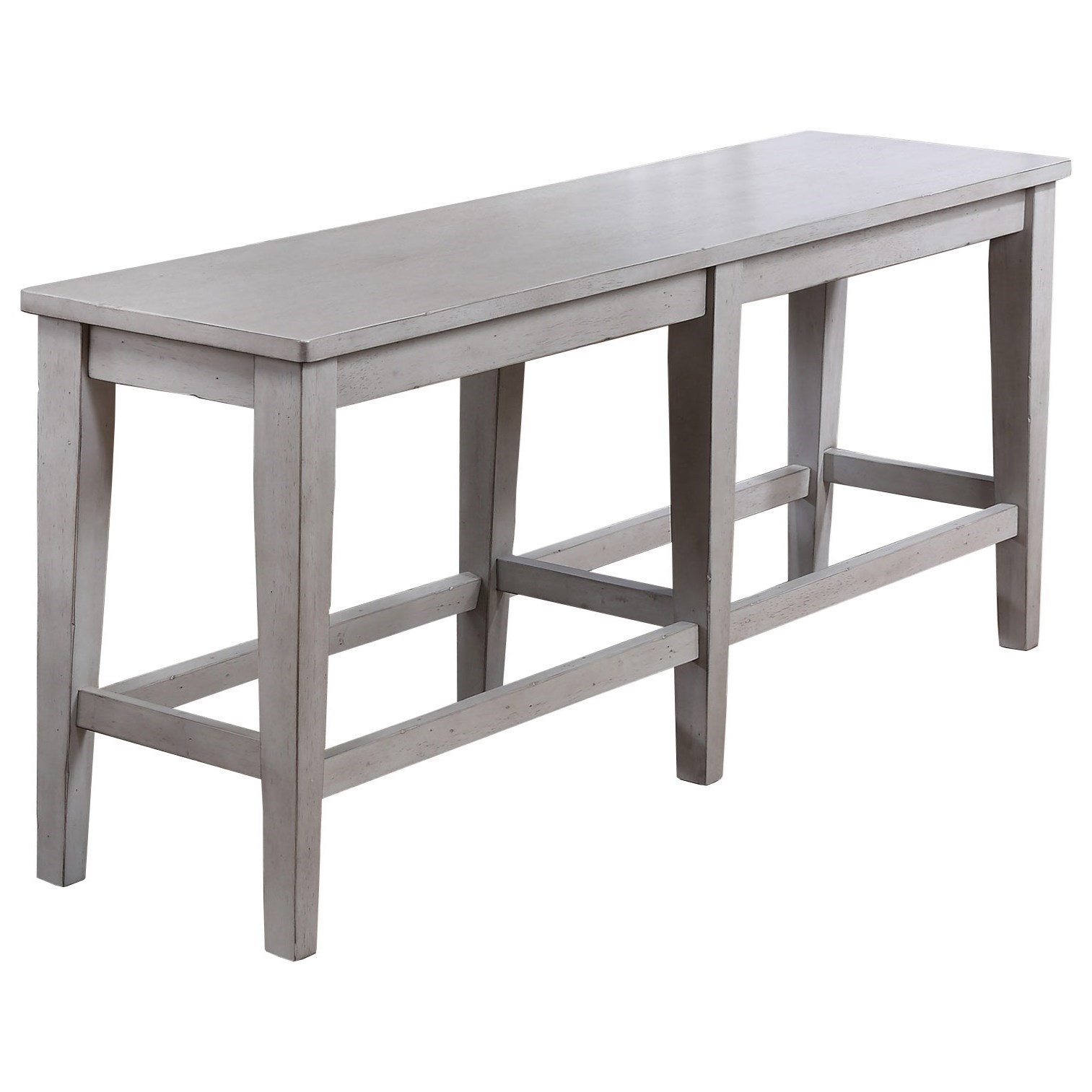 Carmel Counter Height Bench by Winners Only at Crowley Furniture & Mattress