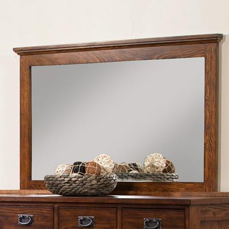 Colorado Dresser Mirror by Winners Only at Mueller Furniture