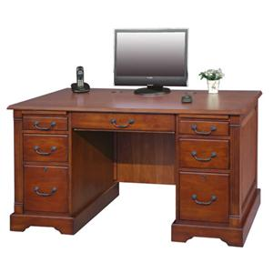 "Winners Only Country Cherry 57"" Flat Top Desk"