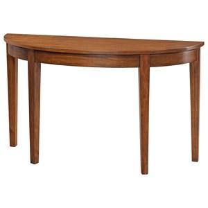 "52"" Half Round Sofa Table"