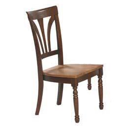 Winners Only Farmhouse Fan Back Side Dining Chair