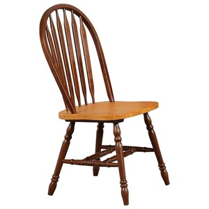 Arrow Back Side Chair