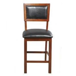 Cushion Back Barstool