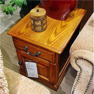 Winners Only Heritage Occasional Tables End Table with Magazine Rack