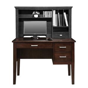 "42"" Single Pedestal Desk with Legs"