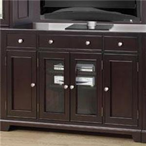 """60"""" Media Base with 3 Drawers and 4 Drawers"""