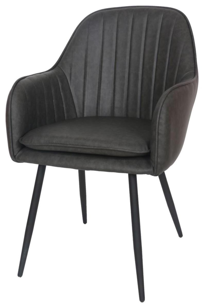 Modern Match Arm Chair at Bennett's Furniture and Mattresses