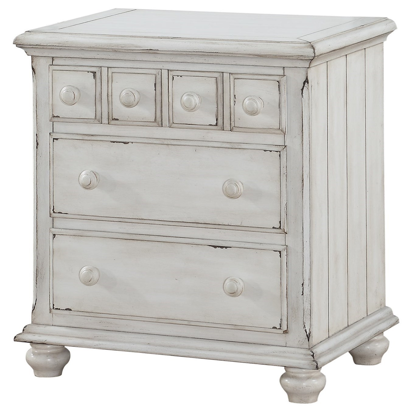 Nashville 3-Drawer Nightstand by Winners Only at Mueller Furniture