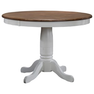 """42"""" Round Single Pedestal Dining Table"""