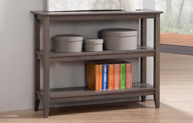 Quadra Low Bookcase at Bennett's Furniture and Mattresses