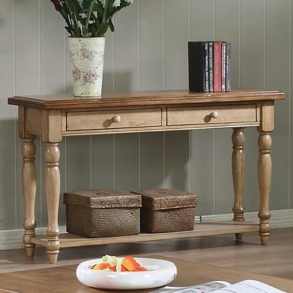 Quails Run Sofa Table by Winners Only at Mueller Furniture