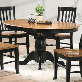 """Winners Only Quails Run 57"""" Round Pedestal Table"""