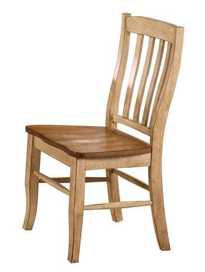 Quails Run Slat Back Side Chair by Winners Only at Mueller Furniture