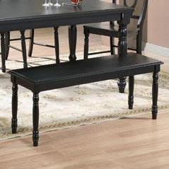 "Transitional 48"" Dining Bench"