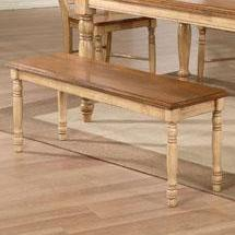 """Quails Run 48"""" Dining Bench by Winners Only at Mueller Furniture"""