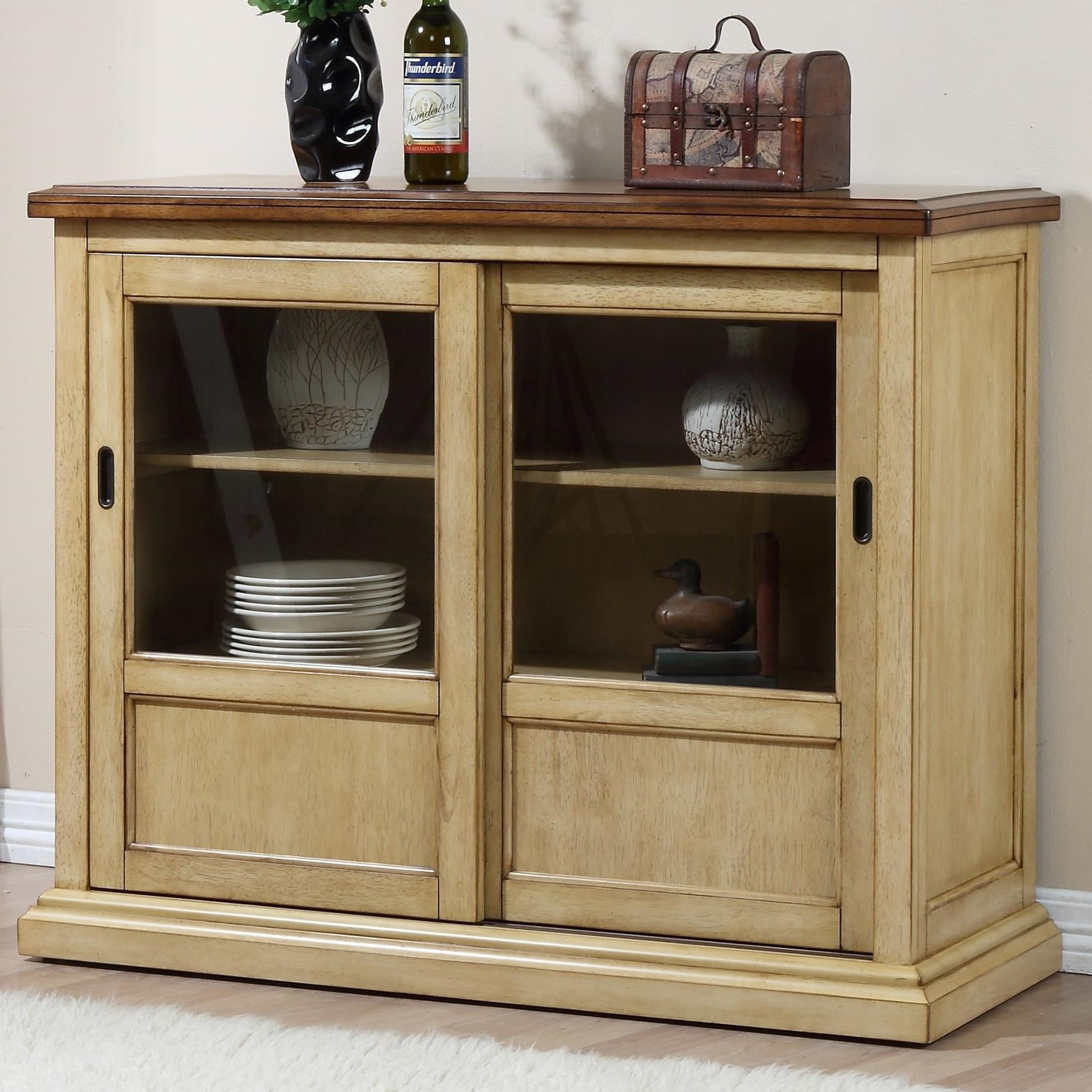 Quails Run Server by Winners Only at Crowley Furniture & Mattress