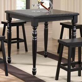"""Winners Only Quails Run 36"""" Square Tall Table"""