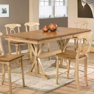 """Quails Run 78"""" Tall Table by Winners Only at Mueller Furniture"""