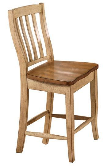 Quails Run Slat Back Barstool by Winners Only at Mueller Furniture