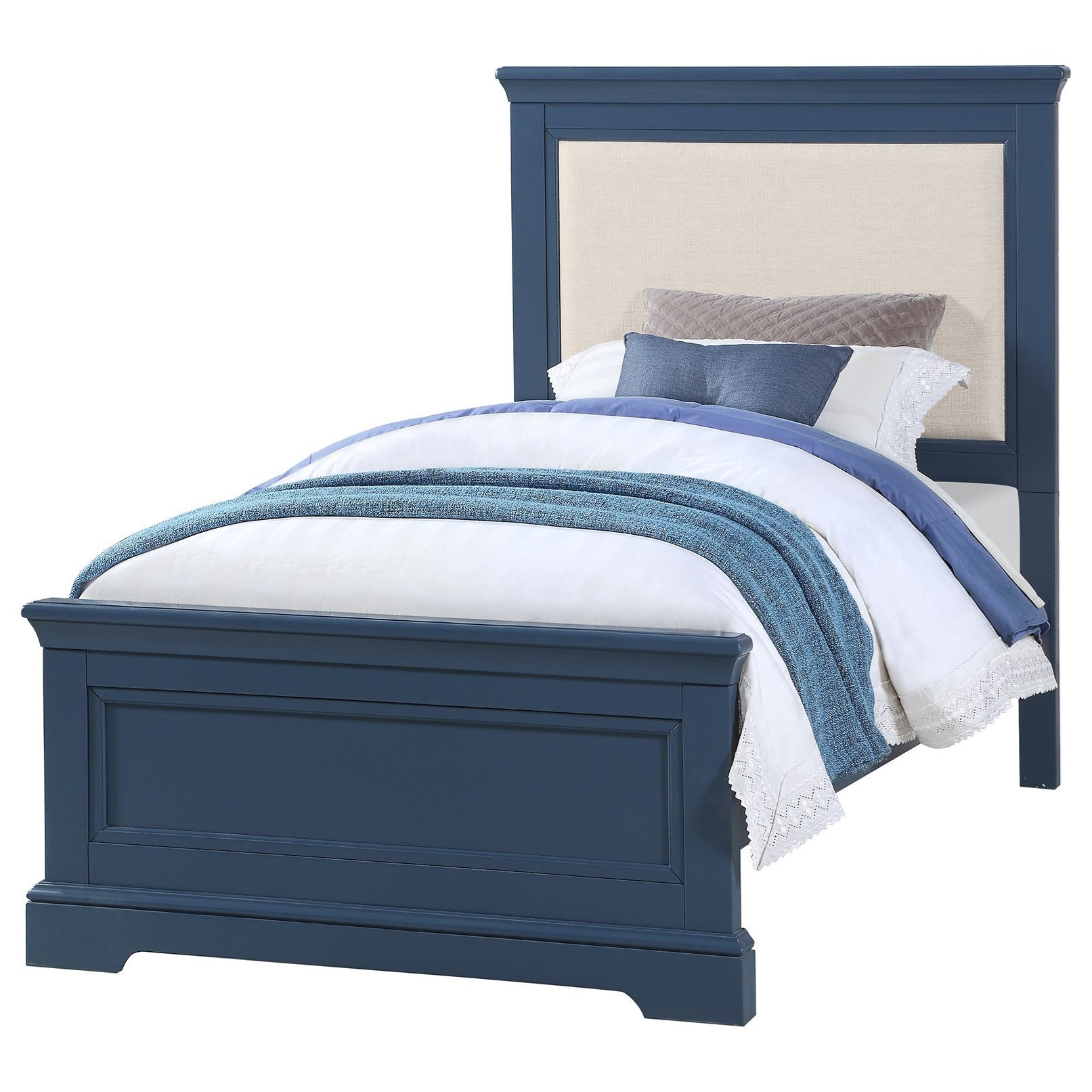 Tamarack Twin Upholstered Bed by Winners Only at Crowley Furniture & Mattress