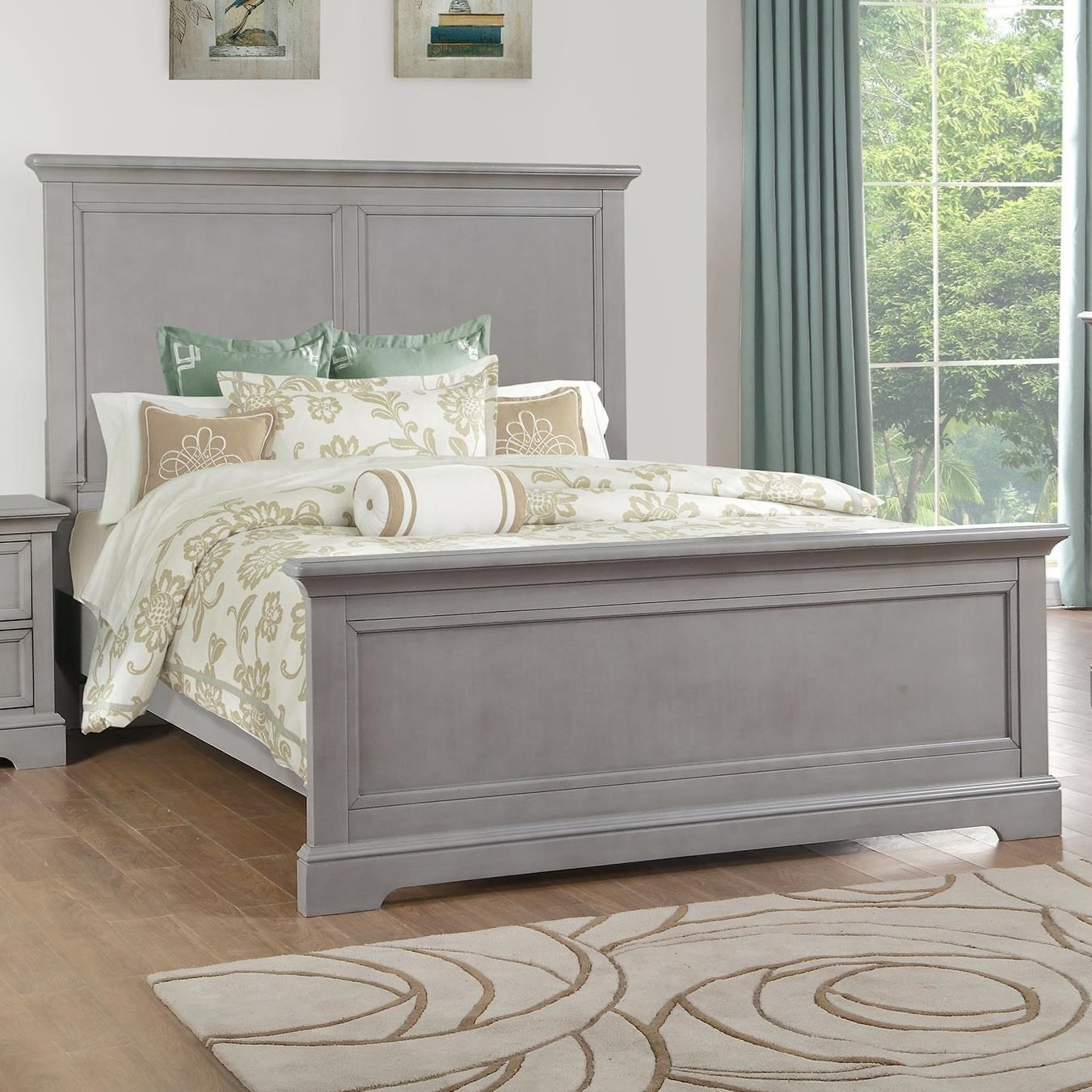 Tamarack King Panel Bed by Winners Only at Mueller Furniture