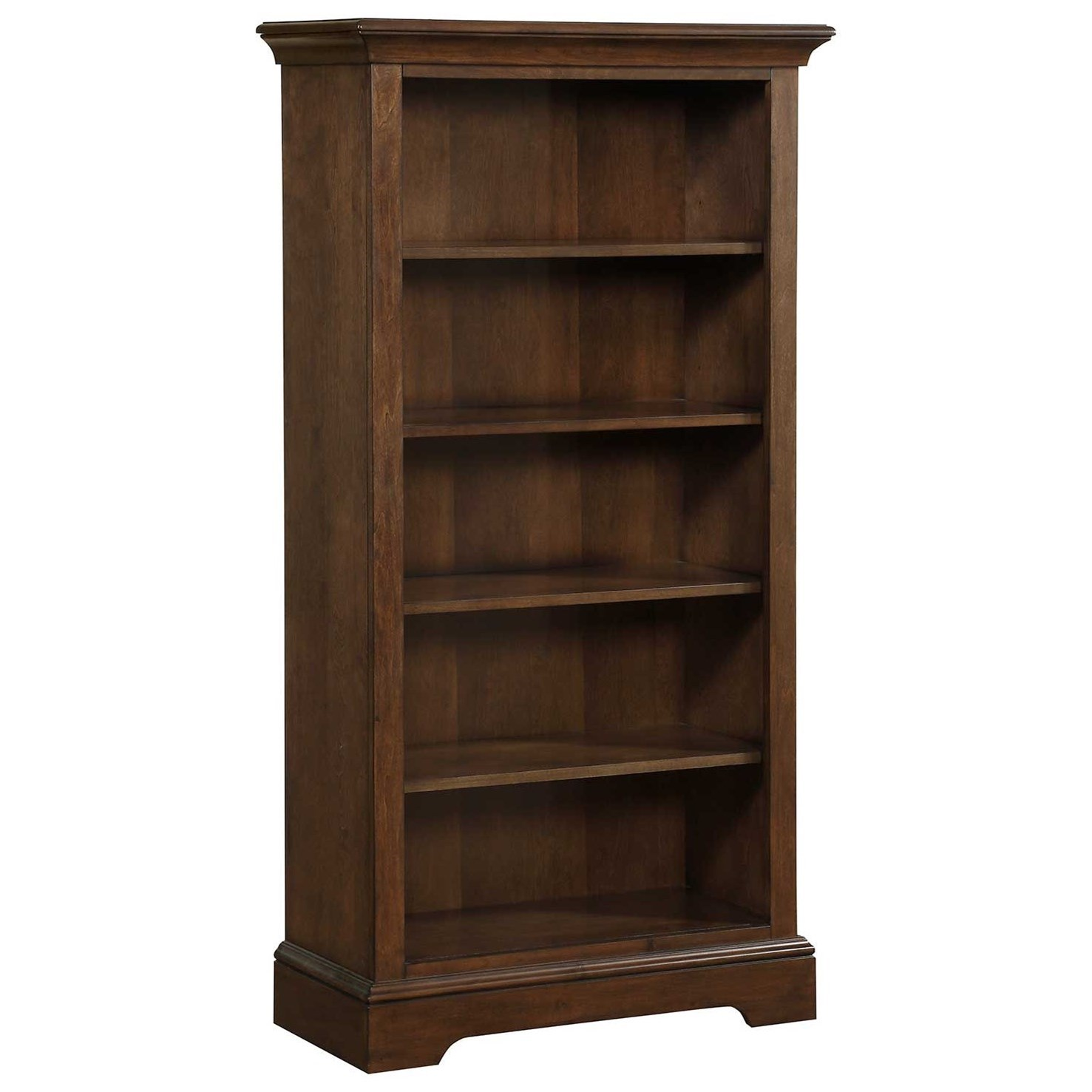Tamarack Open Bookcase by Winners Only at Mueller Furniture