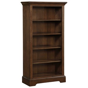 Open Bookcase with 4 Adjustable Shelves