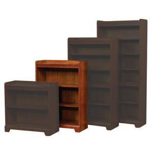 "45"" Open Bookcase"