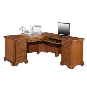 L Shaped Desk and Return