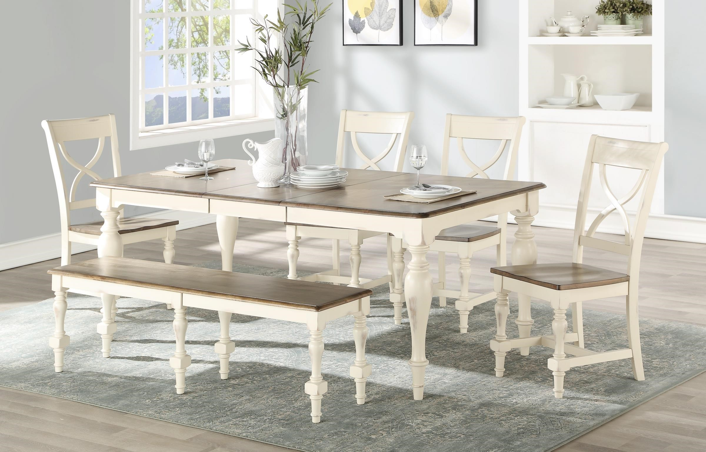 Torrance 6 Pc. Dining Set at Bennett's Furniture and Mattresses