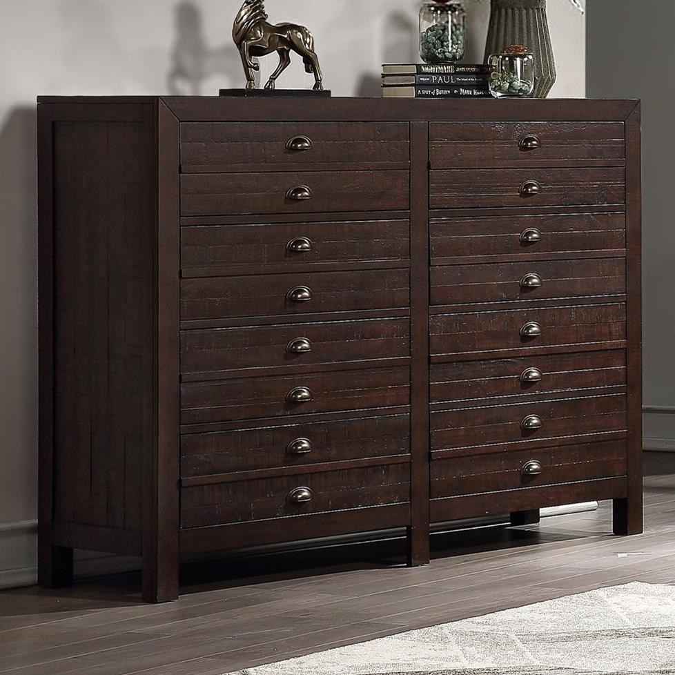 "Union 60"" 8-Drawer Dresser by Winners Only at Lindy's Furniture Company"